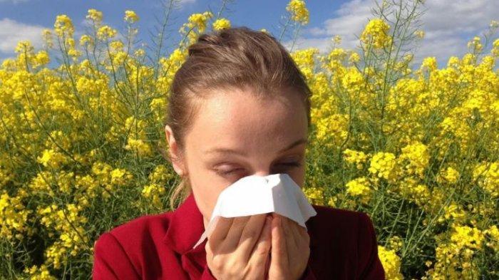 Ilustrasi terkena flu