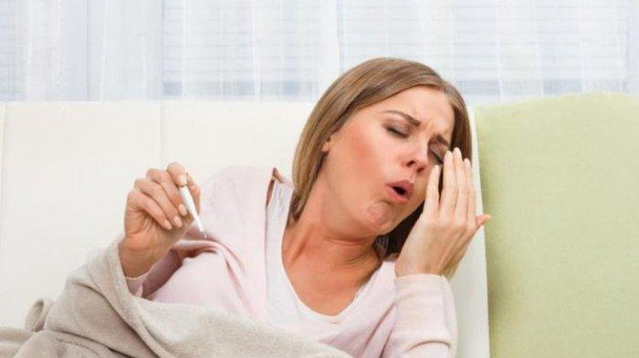ilustrasi batuk