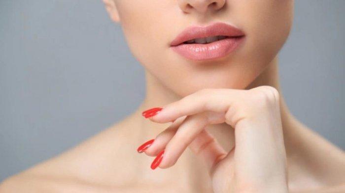 ilustrasi bibir sehat