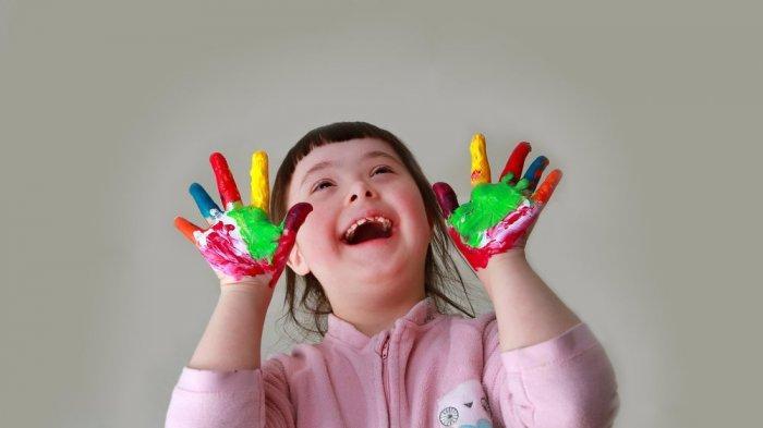 ilustrasi anak down syndrome
