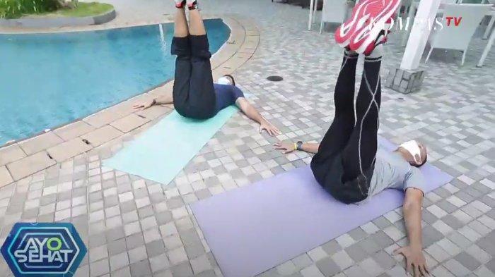 Gerakan leg raise