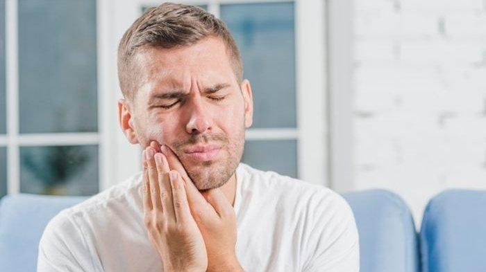 ilustrasi penderita gigi sensitif