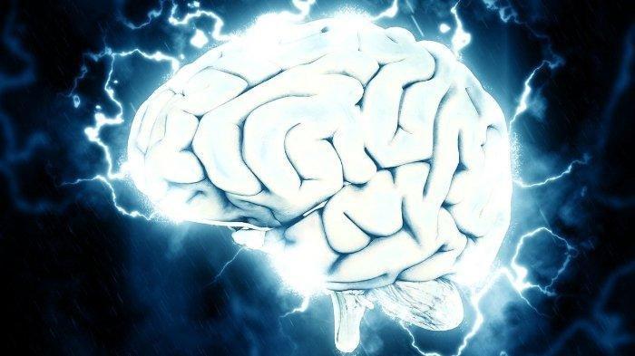 Ilustrasi abses otak atau penumpukan nanah pada otak