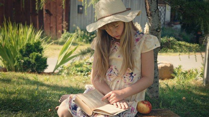 Ilustrasi anak kesulitan membaca karena disleksia