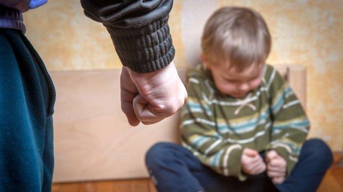 Ilustrasi anak mengalami kekerasan.