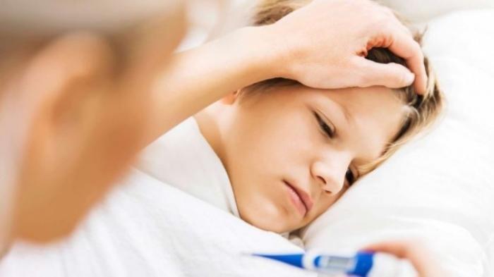 ilustrasi demam gejala tipes