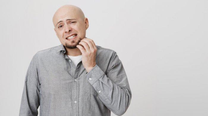 Ilustrasi gatal karena dermatitis atopik