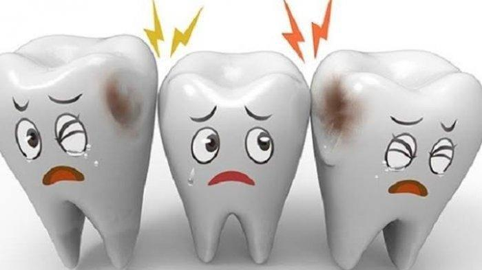 Ilustrasi gigi sensitif yang seringkali dialami oleh sebagian orang