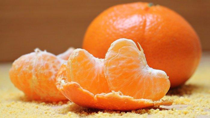Ilustrasi jeruk sebagai salah satu sumber vitamin C