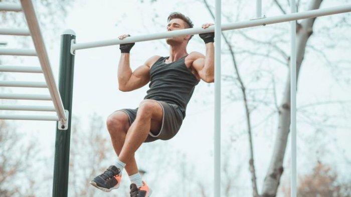 Ilustrasi kegiatan olahraga berat tak dianjurkan untuk penyintas Covid