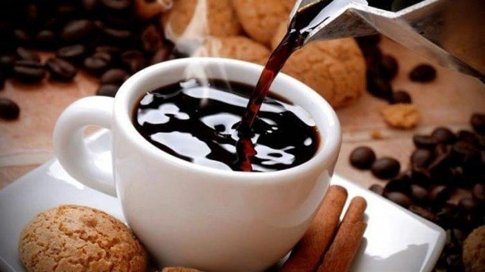 Ilustrasi kopi hitam