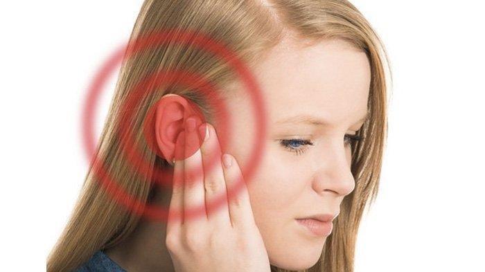 Ilustrasi menurunnya pendengaran