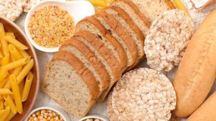 Ilustrasi makanan tinggi gluten