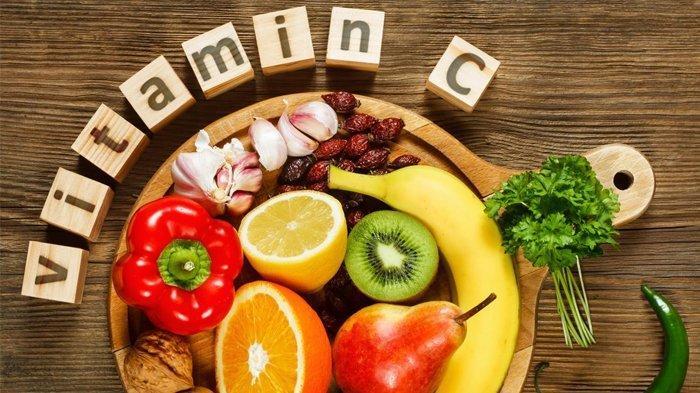Ilustrasi makanan yang kaya akan kandungan vitamin C dan mineral