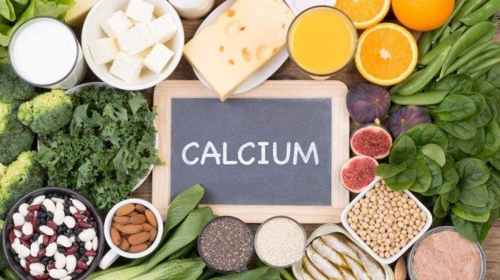 Ilustrasi makanan yang mengandung kalsium