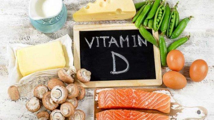 Ilustrasi makanan yang mengandung vitamin D, menurut dr. Henry Suhendra, Sp.OT, vitamin D bersifat larut dalam lemak