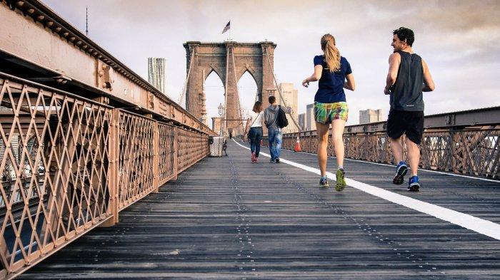 Ilustrasi olahraga untuk menjaga kesehatan