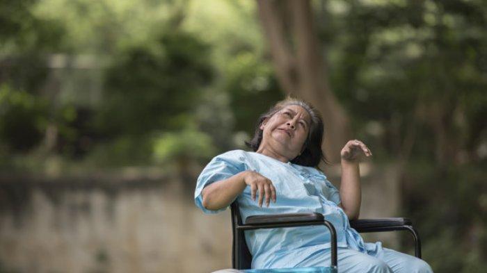 Ilustrasi penderita demensia alzheimer