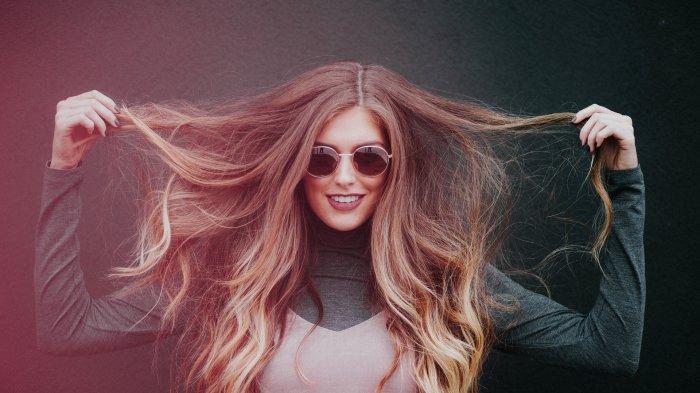 Ilustrasi rambut yang sehat