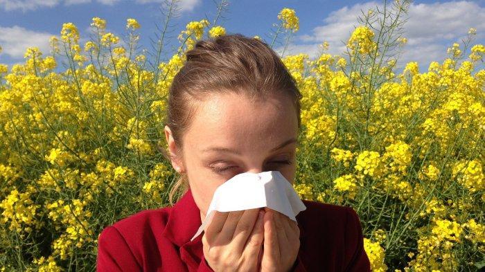 Ilustrasi reaksi alergi