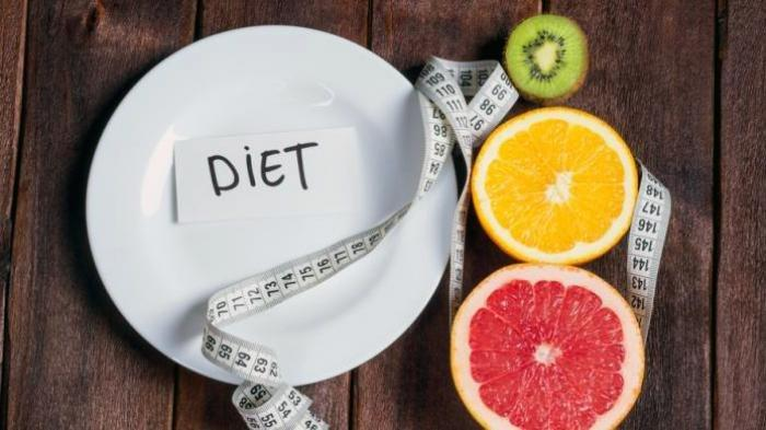 Ilustrasi diet sehat