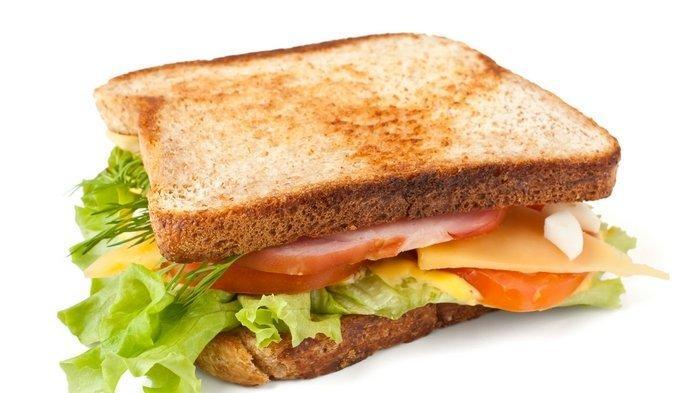 Ilustrasi sandwich untuk bekal anak usia sekolah