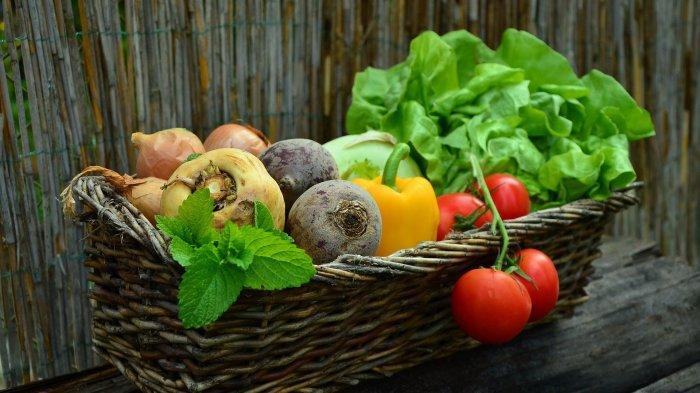 Ilustrasi sayuran dapat membuat gigi menjadi lebih bersih