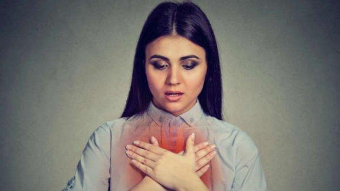 Ilustrasi ibu hamil yang sesak nafas, menurut dr. Bayu Winarno, Sp.OG saat terinfeksi COVID-19 bisa mengalami sesak nafas