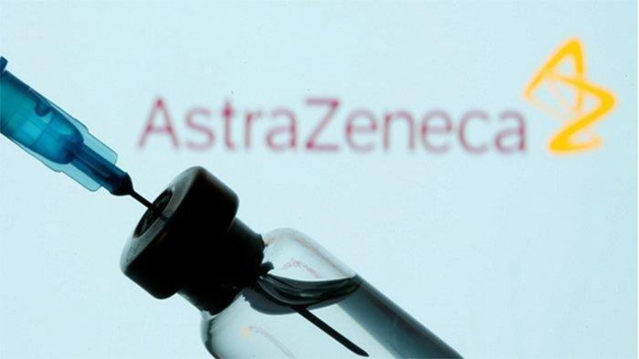 Ilustrasi vaksin AstraZeneca batch CTMAV547