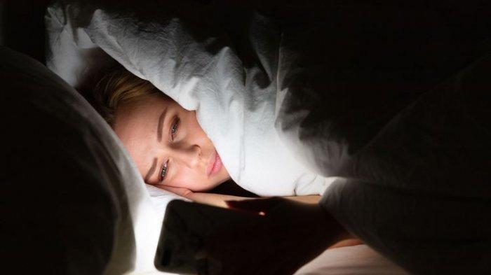 ilustrasi penderita insomnia