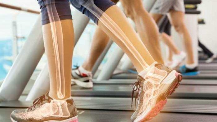 ilustrasi berolahraga untuk menjaga kesehatan tulang
