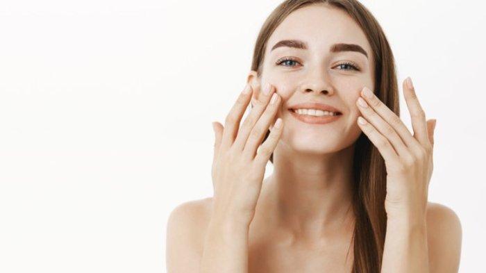 Ilustrasi kulit sehat, kenyal, dan elastis