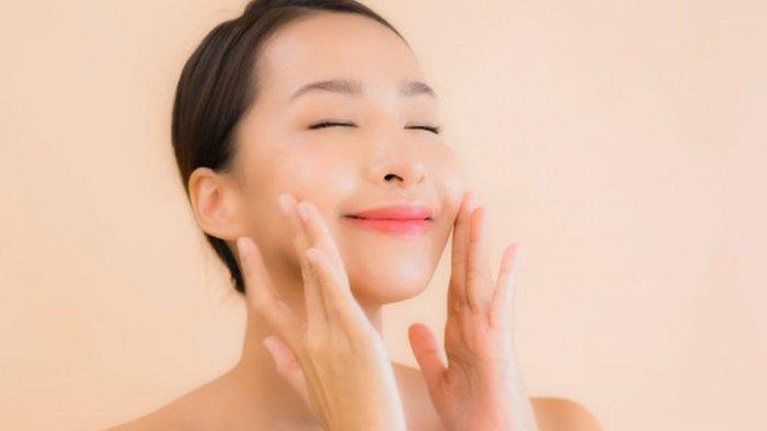 ilustrasi kulit sehat dan kenyal