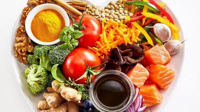 ilustrasi makanan sehat untuk penderita asam lambung