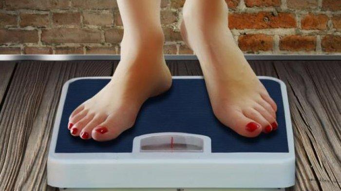 ilustrasi pengukuran berat badan