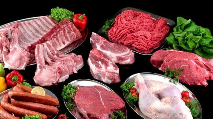 ilustrasi penyimpanan daging mentah