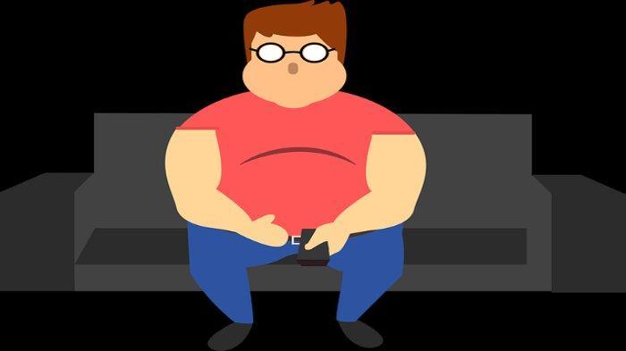 Ilustrasi - Obesitas pada seseorang yang dapat memicu batu empedu