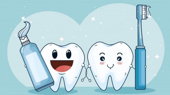 Ilustrasi oral hygiene yang baik, menurut Dr. drg. Munawir H. Usman, M.AP oral hygiene sangat penting