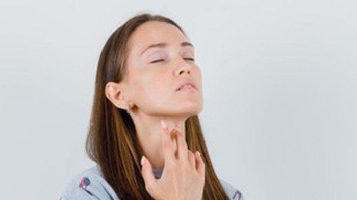 ilustrasi sakit tenggorokan