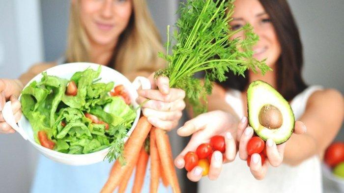 ilustrasi sayur dan buah