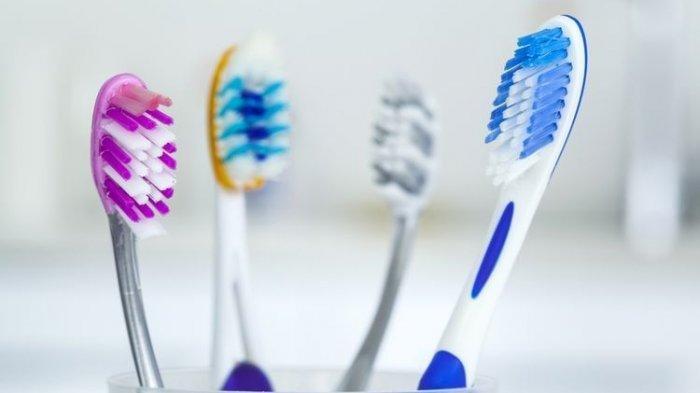 Ilustrasi - Macam-macam sikat gigi