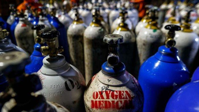 Kebutuhan Tabung Oksigen Meningkat, Pemerintah Konversikan 90% Oksigen Industri ke Medis