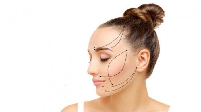 Ilustrasi - Treatment wajah dengan prosedur tanam benang untuk kulit yang kencang