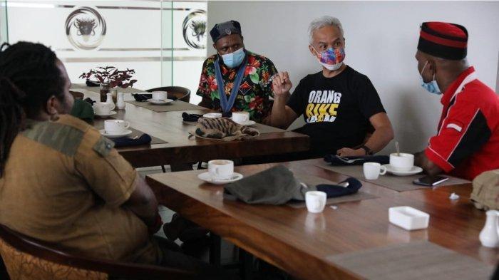 Aktivis Mahasiswa Datangi Ganjar Pranowo, Ngobrol Dua Jam, Sebut Jateng-Papua Bersaudara