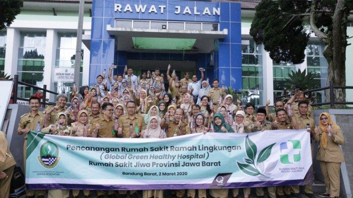 Rumah Sakit Jiwa Provinsi Jawa Barat  Melakukan Pencanangan Rumah Sakit Jiwa Ramah Lingkungan