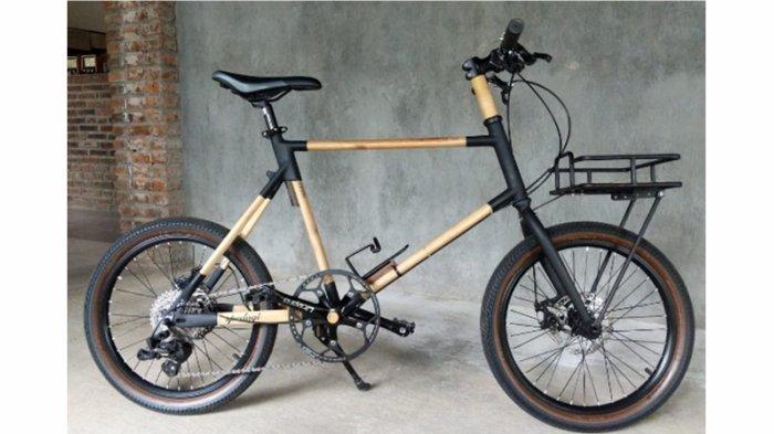Pengrajin Sepeda Bambu Perlu Sentuhan Teknologi