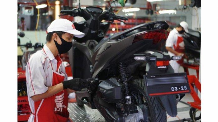 Servis Motor Honda di Bulan Ramadhan Langsung Dapat E-Voucher Servis