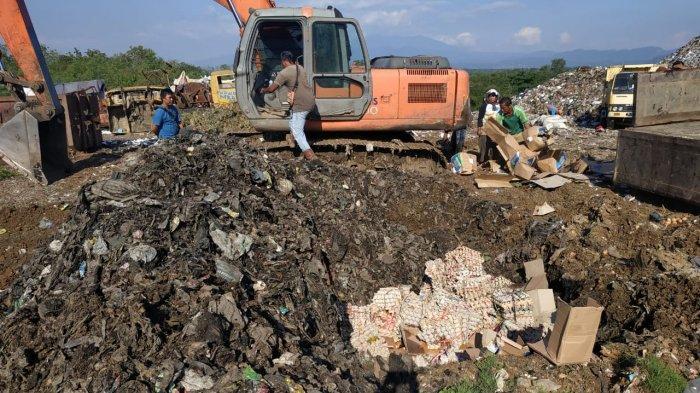 1,2 Ton Telur Bansos Provinsi Dimusnahkan di Majalengka, Begini Kata Kepala Kantor Pos Majalengka