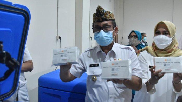 13.400 Vial Vaksin Covid-19 Tiba di Kabupaten Cirebon, Bupati Sebut Khusus untuk Tenaga Kesehatan