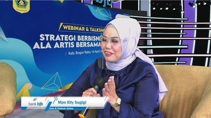"Bank bjb Cabang Cibinong Gelar Webinar ""Strategi Berbisnis Online Ala Artis Bersama bank bjb"""